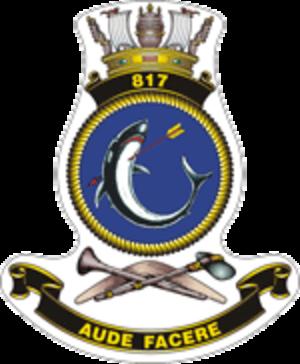 817 Squadron RAN - 817 Squadron's crest