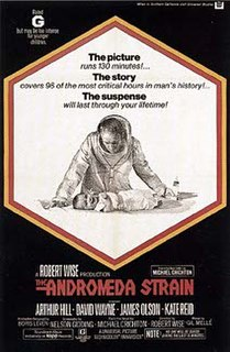 <i>The Andromeda Strain</i> (film) 1971 film by Robert Wise