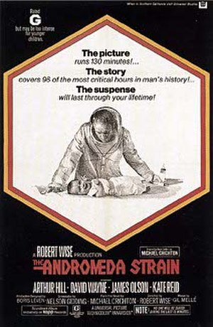 The Andromeda Strain (film) - Theatrical release poster