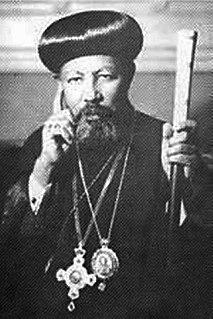 Abuna Theophilos 20th-century Patriarch of Ethiopia