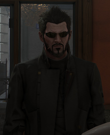 Adam Jensen in Mankind Divided.png
