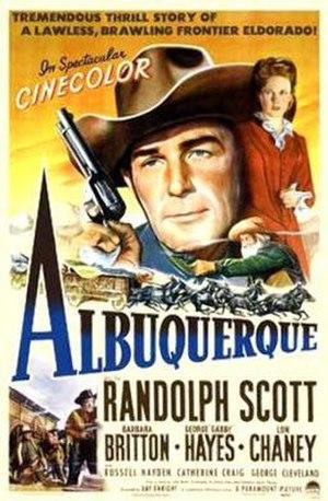 Albuquerque (film) - Image: Albuquerque 1948 Poster