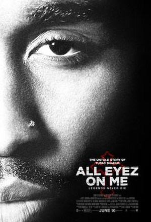 All Eyez on Me (film) - Theatrical release poster