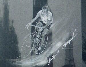 Athletic Club de Boulogne-Billancourt - Memorial commemorating Jacques Anquetil