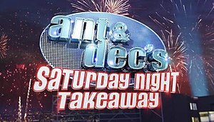 Ant & Dec's Saturday Night Takeaway - The show's current logo (2016–present)