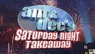 Ant & Dec's Saturday Night Takeaway - Image: Ant & Dec's Saturday Night Takeaway logo