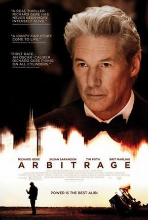 Arbitrage (film) - Theatrical release poster
