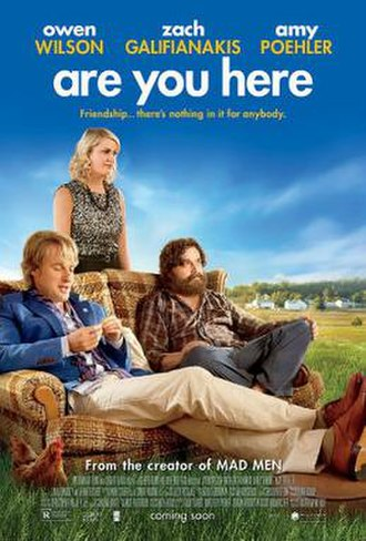 Are You Here - Theatrical release poster