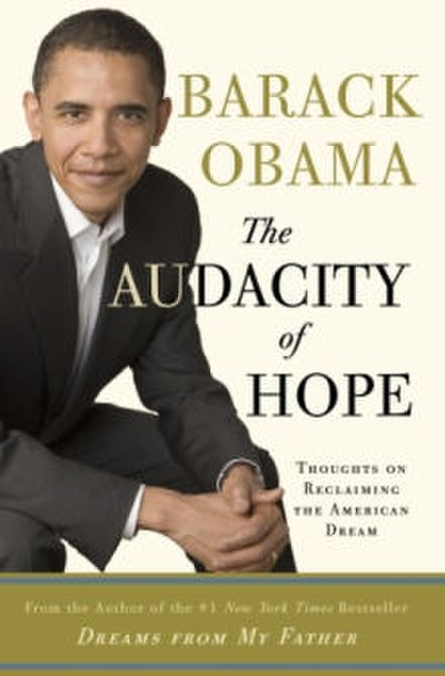 Picture of a book: The Audacity Of Hope