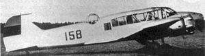 Estonian Air Force - An Estonian Avro Anson in the late 1930s