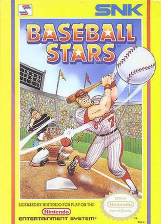 Baseball Stars - Cover art for Baseball Stars
