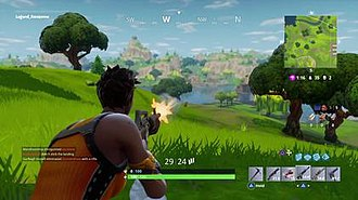 Fortnite Battle Royale - The game also revolves around players eliminating their opponents to be the last one standing
