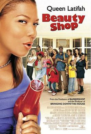 Beauty Shop - Promotional release poster