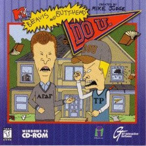 Beavis and Butt-Head Do U. - Windows cover art