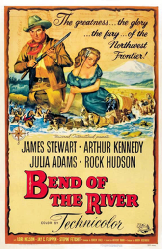 Bend of the River - Theatrical release poster