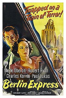 <i>Berlin Express</i> 1948 film by Jacques Tourneur