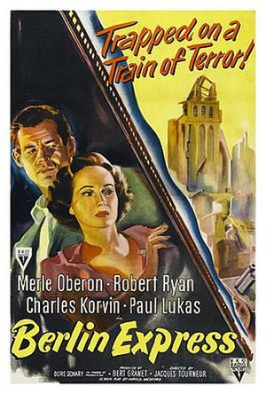 Berlin Express - Theatrical release poster