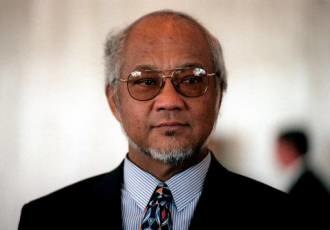 President of Nauru - Image: Bernard Dowiyogo