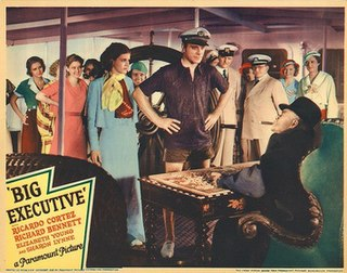 <i>Big Executive</i> 1933 film