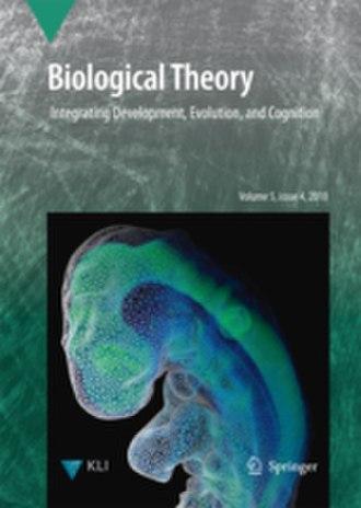 Biological Theory (journal) - Image: Biologicaltheorylowr es