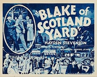 <i>Blake of Scotland Yard</i> (1927 serial) 1927 film