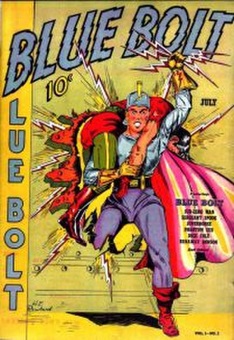 Blue Bolt - Image: Blue Bolt Comics 2