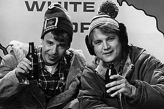 Bob and Doug McKenzie Canadian comedy duo portrayed by Rick Moranis and Dave Thomas