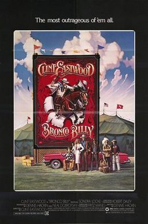 Bronco Billy - Theatrical release poster