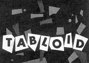 Tabloid (TV series) - Image: CBC Television's title card for Tabloid