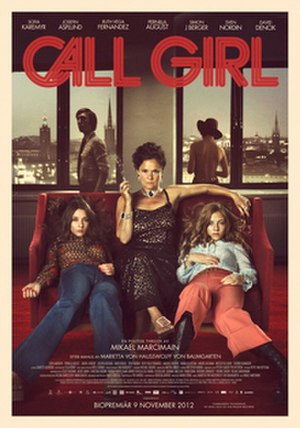 Call Girl (2012 film) - Theatrical release poster