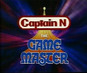 Captain N: The Game Master - Image: Captaintitle