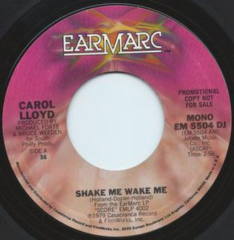 "Shake Me, Wake Me (When It's Over) - Image: Carol Lloyd ""Shake Me, Wake Me (When It's Over)"""