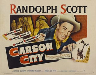 <i>Carson City</i> (film) 1952 American Western film by André de Toth
