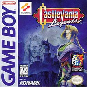 Castlevania Legends - North American box art