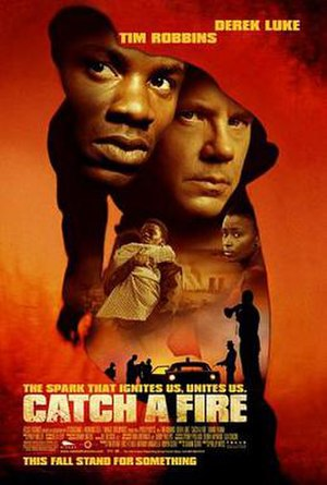Catch a Fire (film) - US theatrical release poster