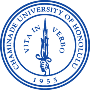 Chaminade University of Honolulu - Image: Chaminade Seal