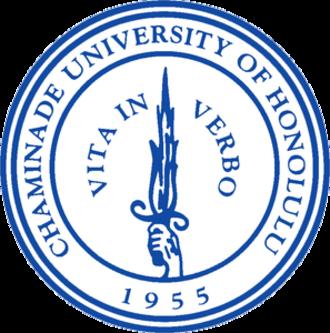 Chaminade University of Honolulu - Image: Chaminade Seal