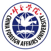 China Foreign Affairs University logo.png