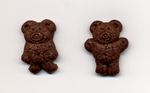 Teddy Grahams - The two shapes of Teddy Grahams.