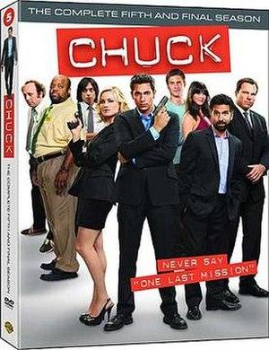 Chuck (season 5) - Image: Chuck Season 5 Box Art