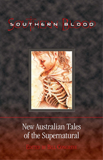 Southern Blood - Dreaming Down-Under first edition cover.
