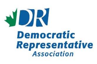 Democratic Representative Caucus - Image: DR Alogo