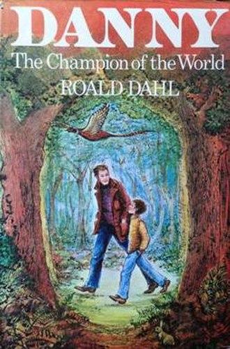 Danny, the Champion of the World - Original book cover