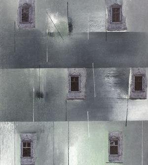 David Blackburn (artist) - Windows, 1992, 42x37cm, collage.