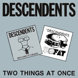 Two Things at Once - Image: Descendents Two Things at Once cover