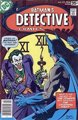 Marshall Rogers - Image: Detective Comics 475