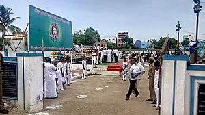 Devendrar Jayanti - Gathering at Immanuel sekaran memorial on Devendrar jayanthi