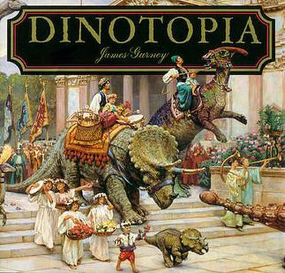Picture of a book: Dinotopia