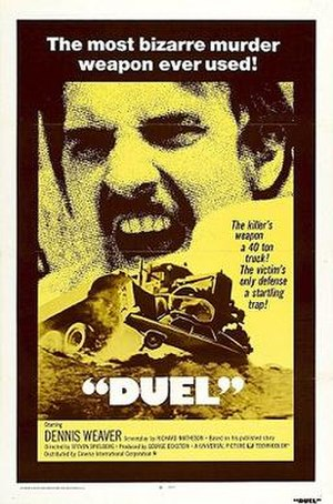 Duel (1971 film) - Promotional poster (re-release version)