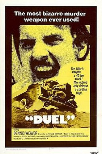 Duel (1971 film) - International theatrical release poster